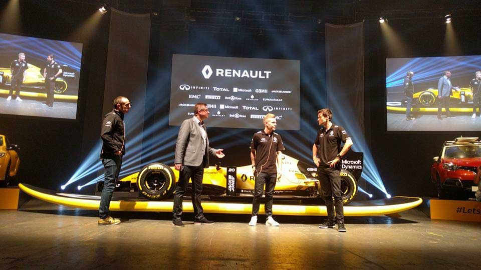 Renault Formula 1 Season Launch