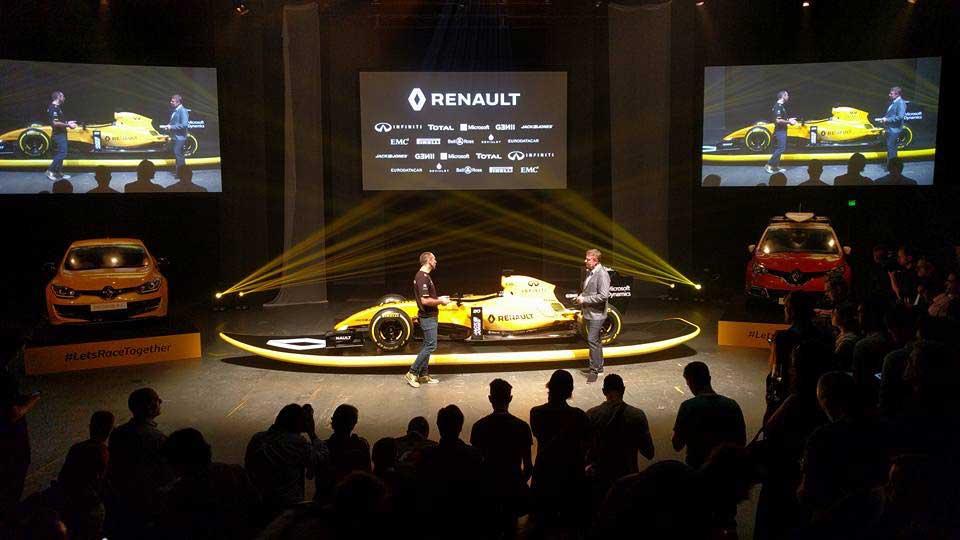 Renault Formula 1 Season Launch