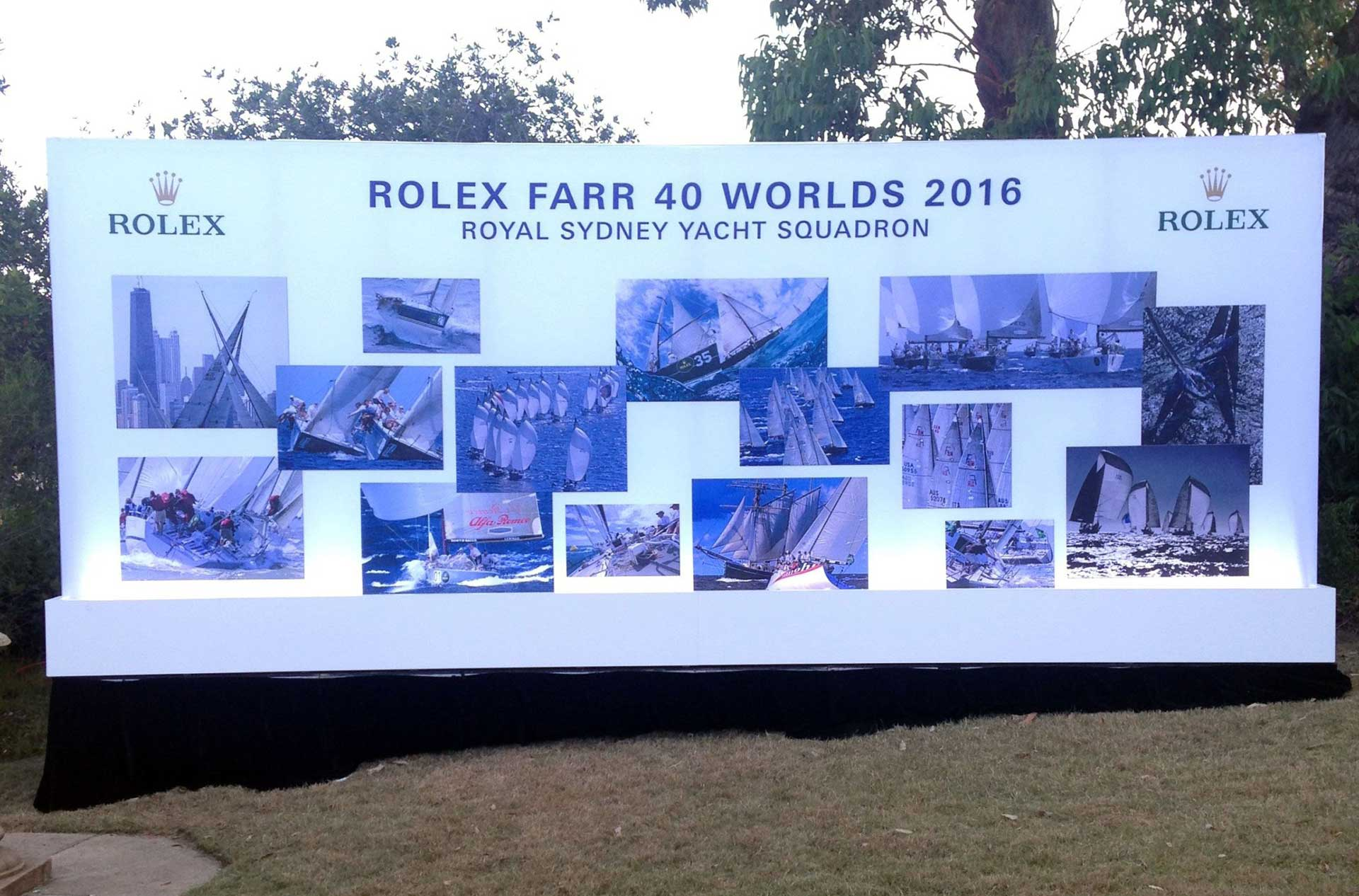 Rolex Farr 40 Sydney Race Awards