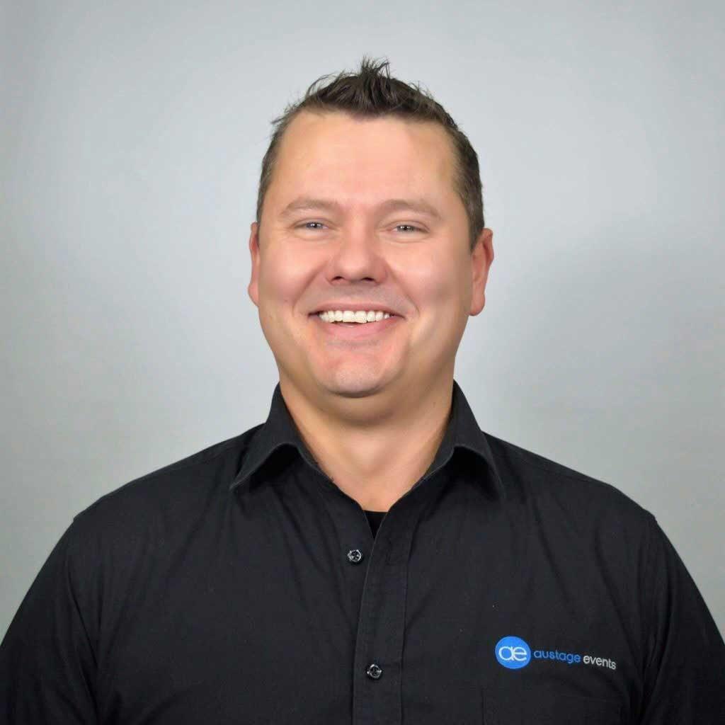 Shaun De Abreu, Finance Manager, Austage Events