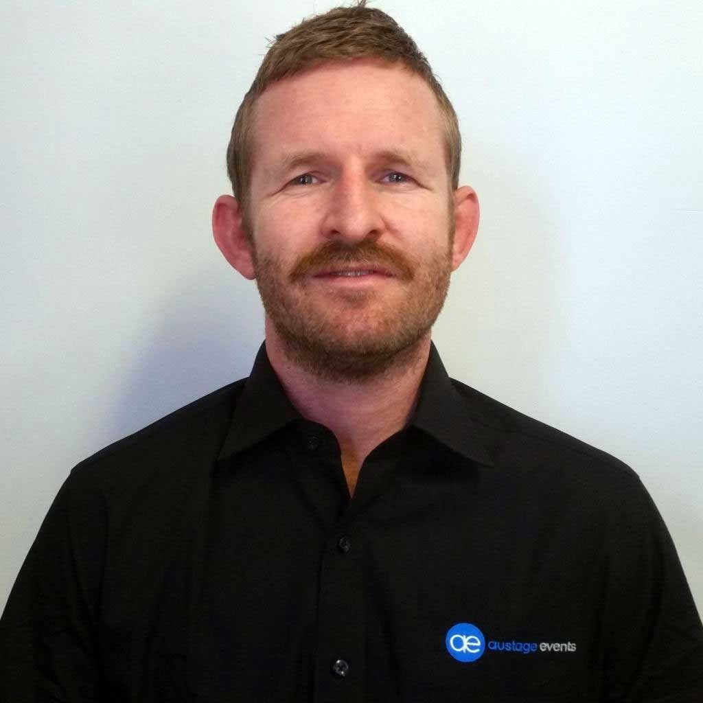 Trent Payne, Sales & Technical Manager, Austage Events