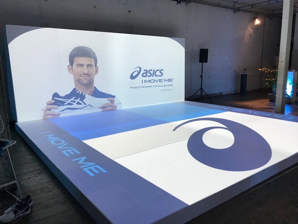 "Asics ""I Move Me"" Launch featuring Novak Djokovic"