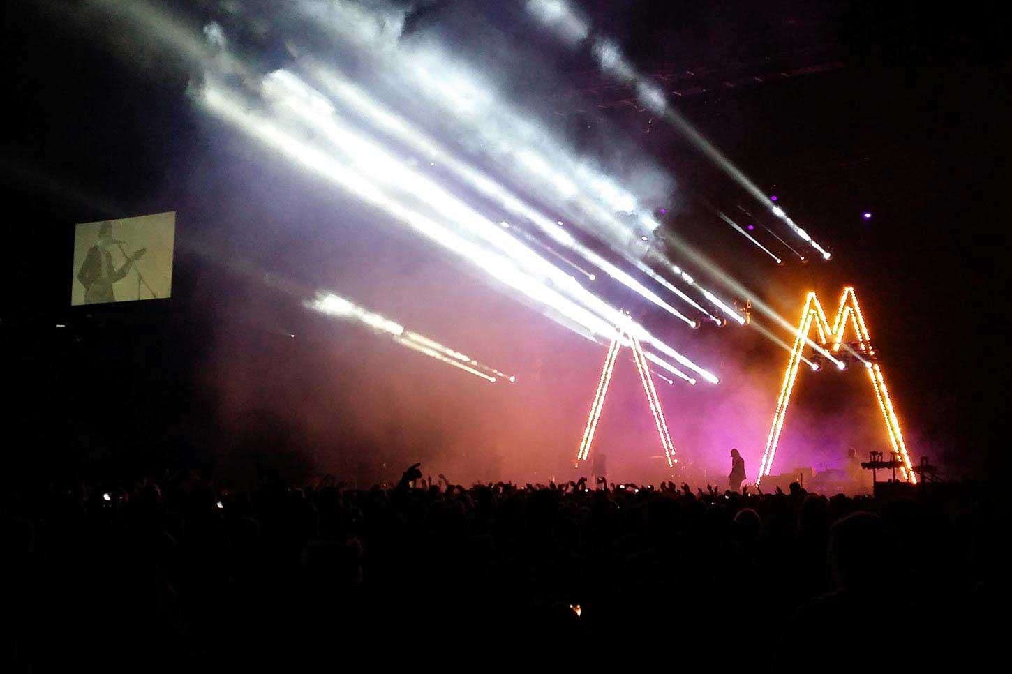 Arctic Monkeys 2014 Tour Staging & lighting by Austage Events