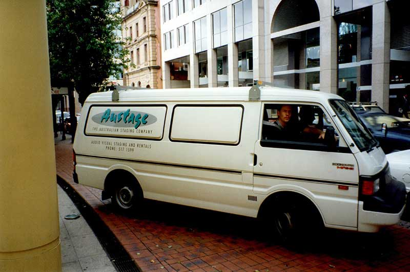 The first Austage Events Vehicle