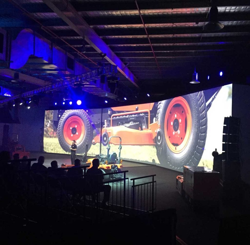 Brisbane Truck Show Staging & Lighting by Austage Events