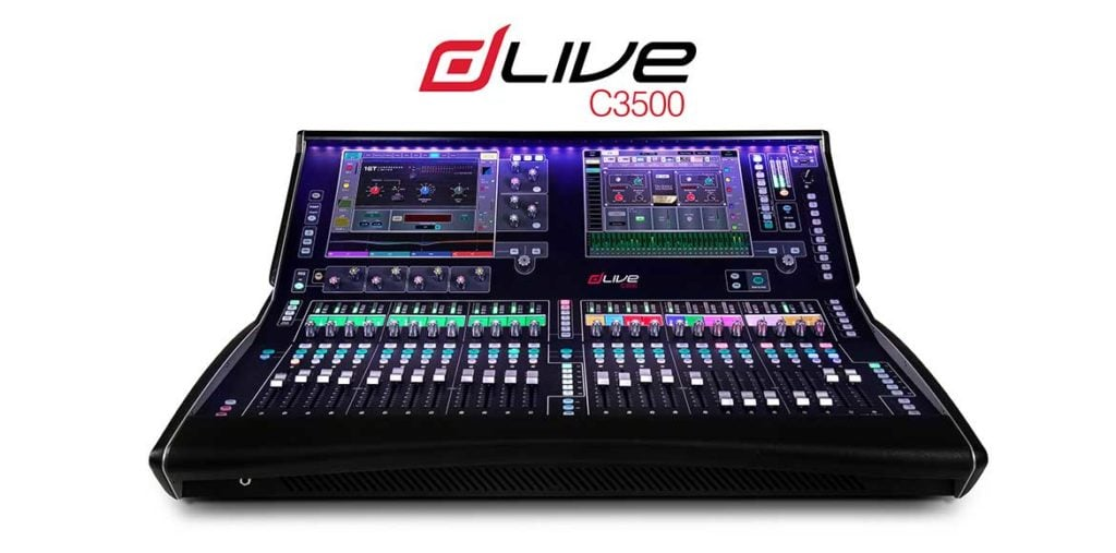 Allen & Heath dLive C3500 Digital Audio Console