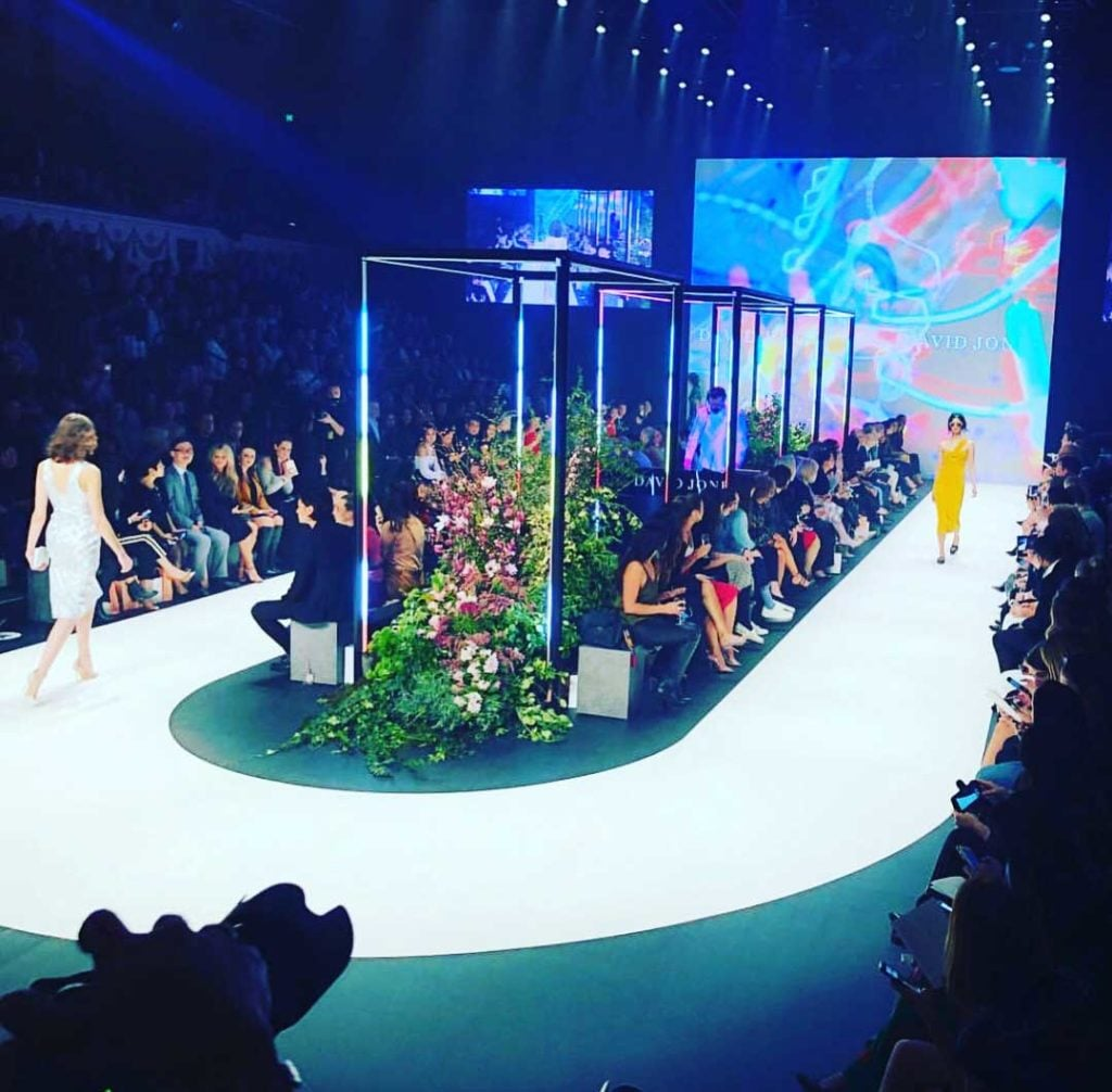 David Jones Fashion Show Staging & Lighting by Austage Events
