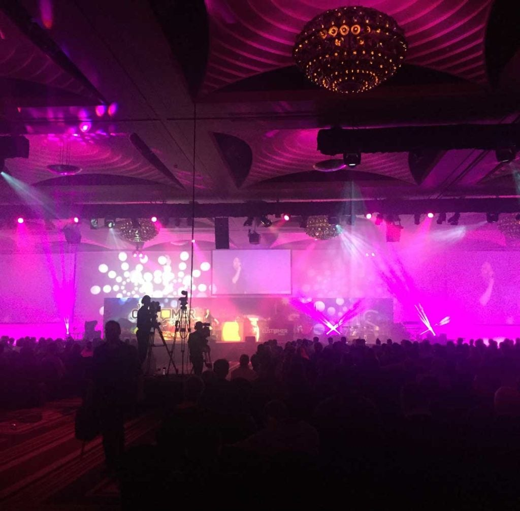 Sensis Conference Staging & Lighting by Austage Events