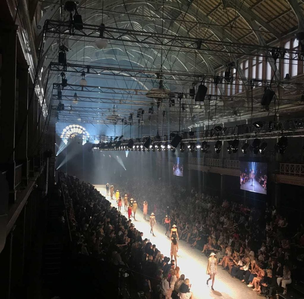 Melbourne Fashion Week Staging & Lighting by Austage Events