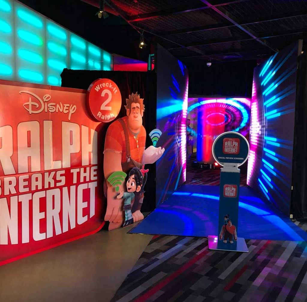 Wreck It Ralph Movie Entrange by Austage Events